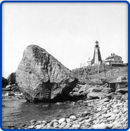 1940s Photo of Sentinel Rock